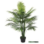 Palmier Plante Arbre Artificielle Artificiel Plastique 130cm Decovego