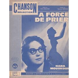 "Nana Mouskouri ""A force de prier"""