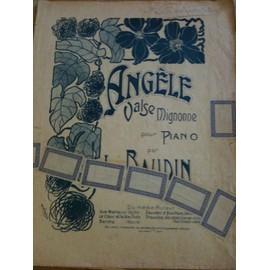 Partition Angèle valse mignonne pour piano