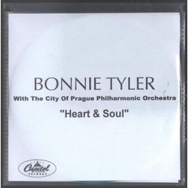 BONNIE TYLER HEART & SOUL FRENCH COLLECTOR SINGLE CD PLASTIC SLEEVES TRES RARE