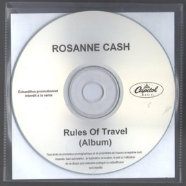 ROSANNE CASH RULES OF TRAVEL FULL CD FRENCH COLLECTOR PLASTIC SLEEVES RARE 11 titles