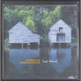KINGS OF CONVENIENCE BOAT BEHIND FRENCH COLLECTOR 2 TITLES PLASTIC SLEEVE TRES RARE