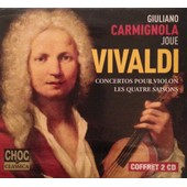 Giuliano Carmignola Joue Vivaldi - Concertos Pour Violon, Les Quatre Saisons - 2cd