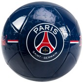 Petit Ballon Psg - Collection Officielle Paris Saint Germain - Taille 1 - Football Supporter - Blason Maillot
