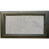 Grille De Chemin�e Avec Pr�cadre Dmo - Bronze - Dimensions 345 X 195 Mm