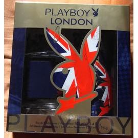 Collector : Coffret Playboy Edition London 1 Vapo Eau De Toilette 100 Ml & 1 Deodorant 150 Ml