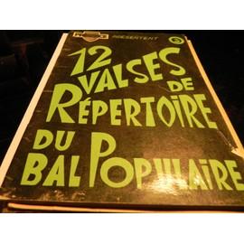 PRESENCE PRESENTE 12 VALSES DE REPERTOIRE DU BAL POPULAIRE