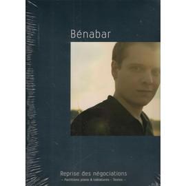 BENABAR REPRISE DES NEGOCIATIONS P/V/GTAB