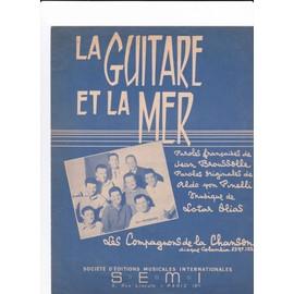 """Les Compagnons de la chanson """"La Guitare et la mer"""""""