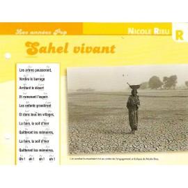 fiche chanson atlas NICOLE RIEU : Sahel vivant