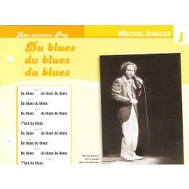 fiche chanson atlas MICHEL JONASZ : du blues du blues du blues