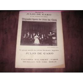 julio de caro ( tango ) noche de luna ( clair de lune )
