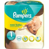 Pampers New Baby Premium Protection Taille 1 New Born 2-5kg 23 Couches