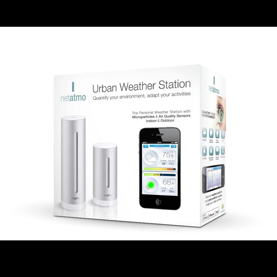 Station Meteo Connectee Netamo Pour Smartphone