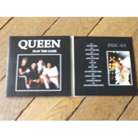 QUEEN Play the game 3CD usa tour 82 rare gatefold 3 parties