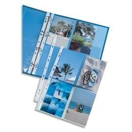 Elba Pochette Perfor�es Pour 8 Photos 100 X 150, Format A4