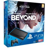 Console Ps3 Ultra Slim 500 Go Noire + Beyond Two Souls + Last Of Us