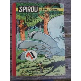 Spirou, Album Du Journal 63