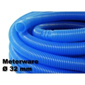 1.5m - 32mm - Tuyau De Piscine Flottant Sections Double Manchon 165g/M - Made In Europe