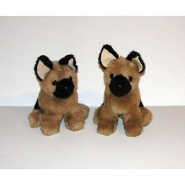 Occasion, chien anima 2 peluches chiot berger allemand