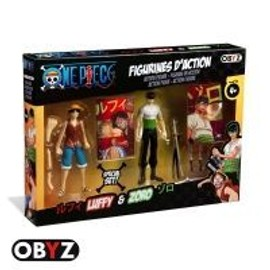 One Piece - Figurine - Pack Figurines 12 Cm Luffy Et Zoro
