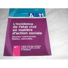 Actualit�s Sociales Hebdomadaires - Ash 2852