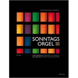 sonntags orgel vol 3 - easy organ music for Church services and teaching