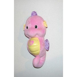 Hippocampe Rose Doudou Musical Et Lumineux Fisher Price 26cm