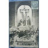C. Postale : France - 75 - Paris - Eglise Saint-Roch - Le Calvaire (1905)