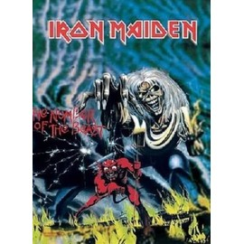 Iron maiden the number of the beast poster