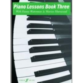 piano lessons book 3 (version en anglais)