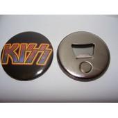 Collection Magnet Aimant Frigo Decapsuleur Kiss Logo