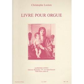 Livre Pour Orgue Partition - Orgue