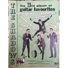 The Shadows - The 3rd Album Of Guitar Favourites. Collectif