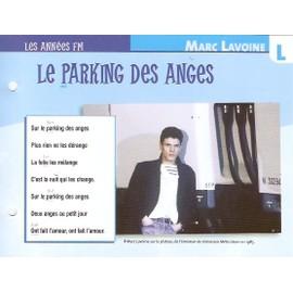 fiche chanson atlas MARC LAVOINE : le parking des anges