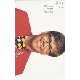 ELTON JOHN plaquette argumentaire The Big Picture  3xfold Poster