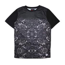 Tshirt Sixth June All Over Roses Noir