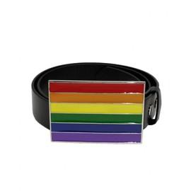 Ceinture Rainbow Noir