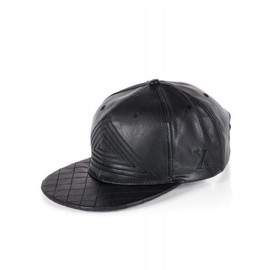 Casquette Project X Homme Aspect Cuir