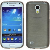 Coque En Silicone Pour Samsung Galaxy S4 Mini - Brushed Argent