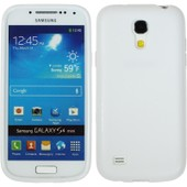 Coque En Silicone Pour Samsung Galaxy S4 Mini - Frosted Blanc