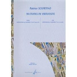 28 Etudes de Virtuosité Etudes pour Euphonium saxhorn - Partition