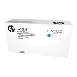 Hp C9731ac - Cyan - Original - Laserjet - Cartouche De Toner ( C9731a ) Contract - Pour Color Laserjet 5500, 5550