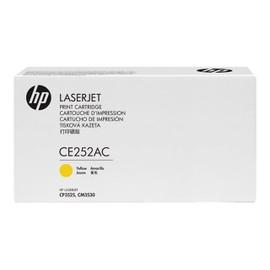 Hp Ce252ac - Jaune - Original - Laserjet - Cartouche De Toner ( Ce252ac ) Contract - Pour Color Laserjet Cm3530 Mfp, Cm3530fs Mfp, Cp3525, Cp3525dn, Cp3525n, Cp3525x