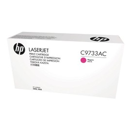 Hp C9733ac - Magenta - Original - Laserjet - Cartouche De Toner ( C9733a ) Contract - Pour Color Laserjet 5500, 5550
