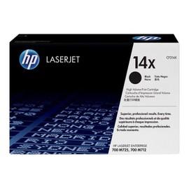 Hp 14x - � Rendement �lev� - Noir - Original - Laserjet - Cartouche De Toner ( Cf214x ) - Pour Laserjet Enterprise 700, Mfp M725f, Mfp M725z, Mfp M725z+