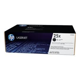 Hp 25x - � Rendement �lev� - Noir - Original - Laserjet - Cartouche De Toner ( Cf325x ) - Pour Laserjet Enterprise Flow Mfp M830z, M806dn, M806x+