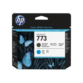 Hp 773 - Noir, Cyan - T�te D'impression - Pour Designjet Z6600, Z6600 Production Printer