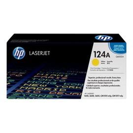 Hp 124a - Jaune - Original - Laserjet - Cartouche De Toner ( Q6002a ) - Pour Color Laserjet 1600, 2600n, 2605, 2605dn, 2605dtn, Cm1015 Mfp, Cm1017 Mfp