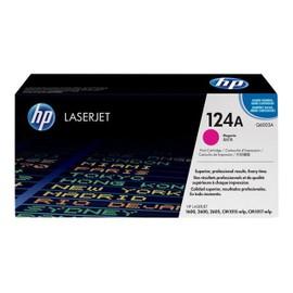 Hp 124a - Magenta - Original - Laserjet - Cartouche De Toner ( Q6003a ) - Pour Color Laserjet 1600, 2600n, 2605, 2605dn, 2605dtn, Cm1015 Mfp, Cm1017 Mfp
